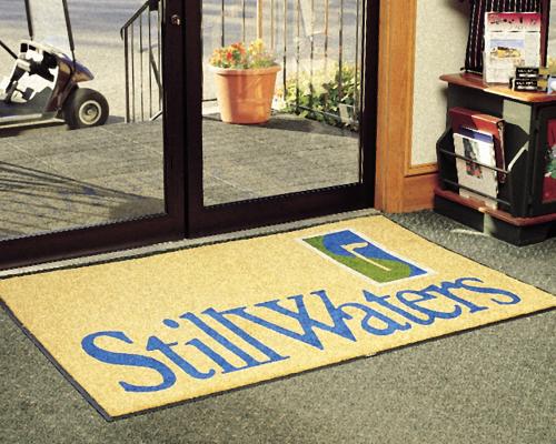 שטיחונים עם לוגו - שטיחי כניסה גדולים