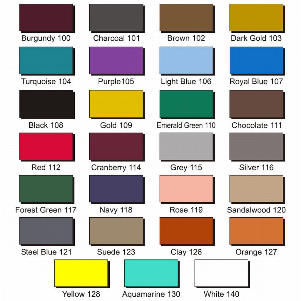 צבעים לבחירת שטיח לוגו
