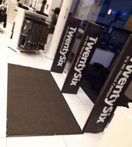 שטיחי כניסה במסעדות