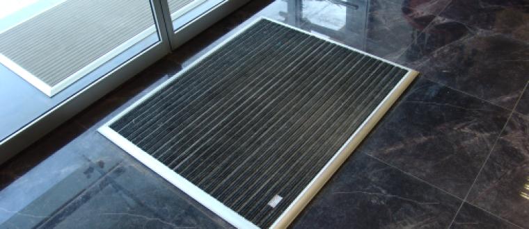 שטיחי כניסה מאלומיניום